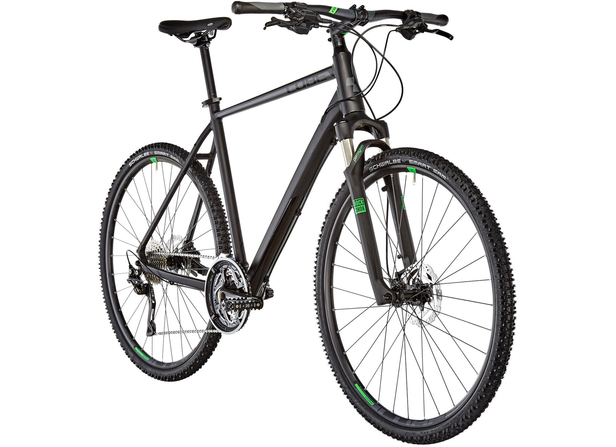 Cube Cross Black\'n\'Green online kaufen   fahrrad.de